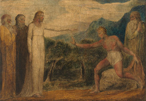 """William Blake - Christ Giving Sight to Bartimaeus - Google Art Project"" by William Blake - XQENbMVCvBS7kw at Google Cultural Institute, zoom level maximum. Licensed under Public Domain via Wikimedia Commons - https://commons.wikimedia.org/wiki/File:William_Blake_-_Christ_Giving_Sight_to_Bartimaeus_-_Google_Art_Project.jpg#/media/File:William_Blake_-_Christ_Giving_Sight_to_Bartimaeus_-_Google_Art_Project.jpg"
